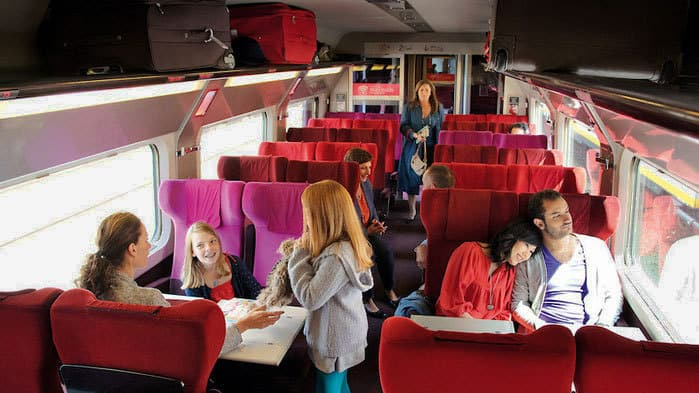 European trains are definitely family-friendly