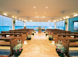 Our Lady of Guadalupe Chapel at Gran Caribe Resort in Cancun, Mexico