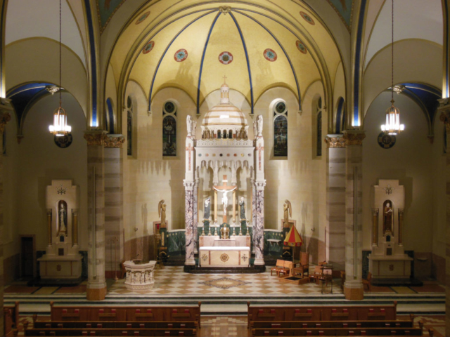 Photo courtesy Fr. Dan Schumaker | Parochial Vicar Basilica of St. Adalbert/St. James Church