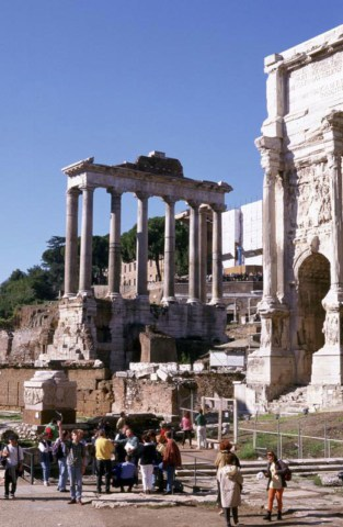 View of the Forum (courtesy Wikipedia)
