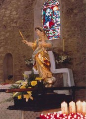 La Garde Freinet, France: Our Lady of Miremer Statue