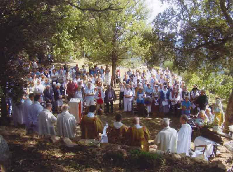 La Garde Freinet, France: Our Lady of Miremer Outdoor Mass