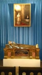 The tomb of Saint Mary Margaret Alacoque