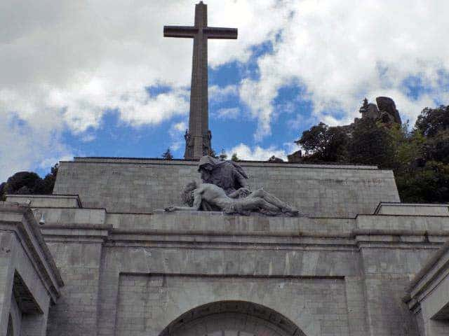 Entrance to the Basilica of the Valley of the Fallen