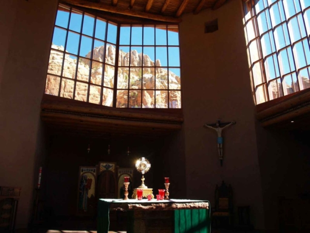 The Blessed Sacrament in the Chapel