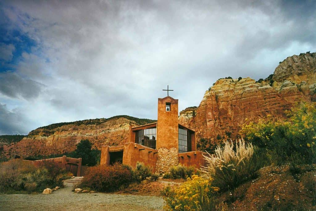 Abiquiu, New Mexico: Monastery of Christ in the Desert