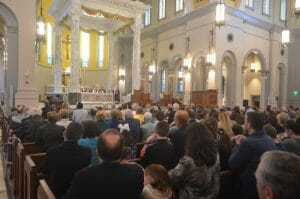 Mass at the dedication of Sacred Heart Cathedral in Knoxville