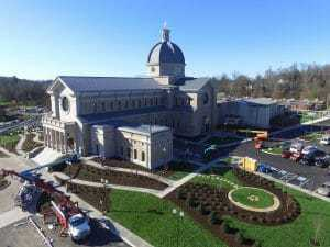 Sacred Heart Cathedral nearing completion