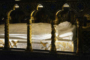 Tomb of St. Catherine of Siena in Rome