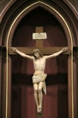 Crucifix in the Church of Saint Jude Fredericksburg, Virginia