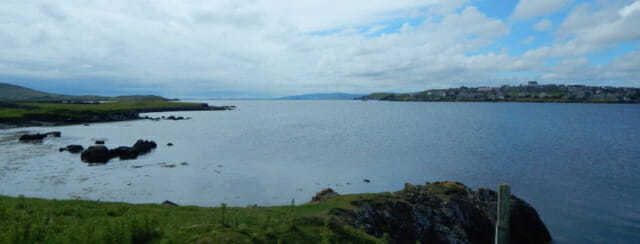 Lerwick Harbor Shetland