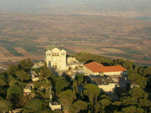 The Church of the Transfiguration on Mount Tabor