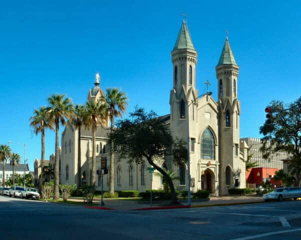 Saint Marys Cathedral Basilica in Galveston