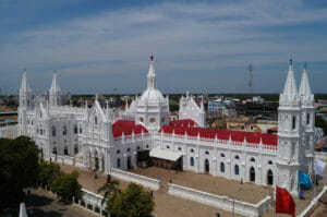 Shrine of Our Lady of Good in Velankanni India