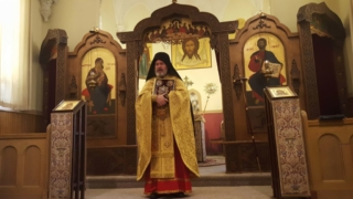 Mass at Reurrection Monastery in Saint Nazianz