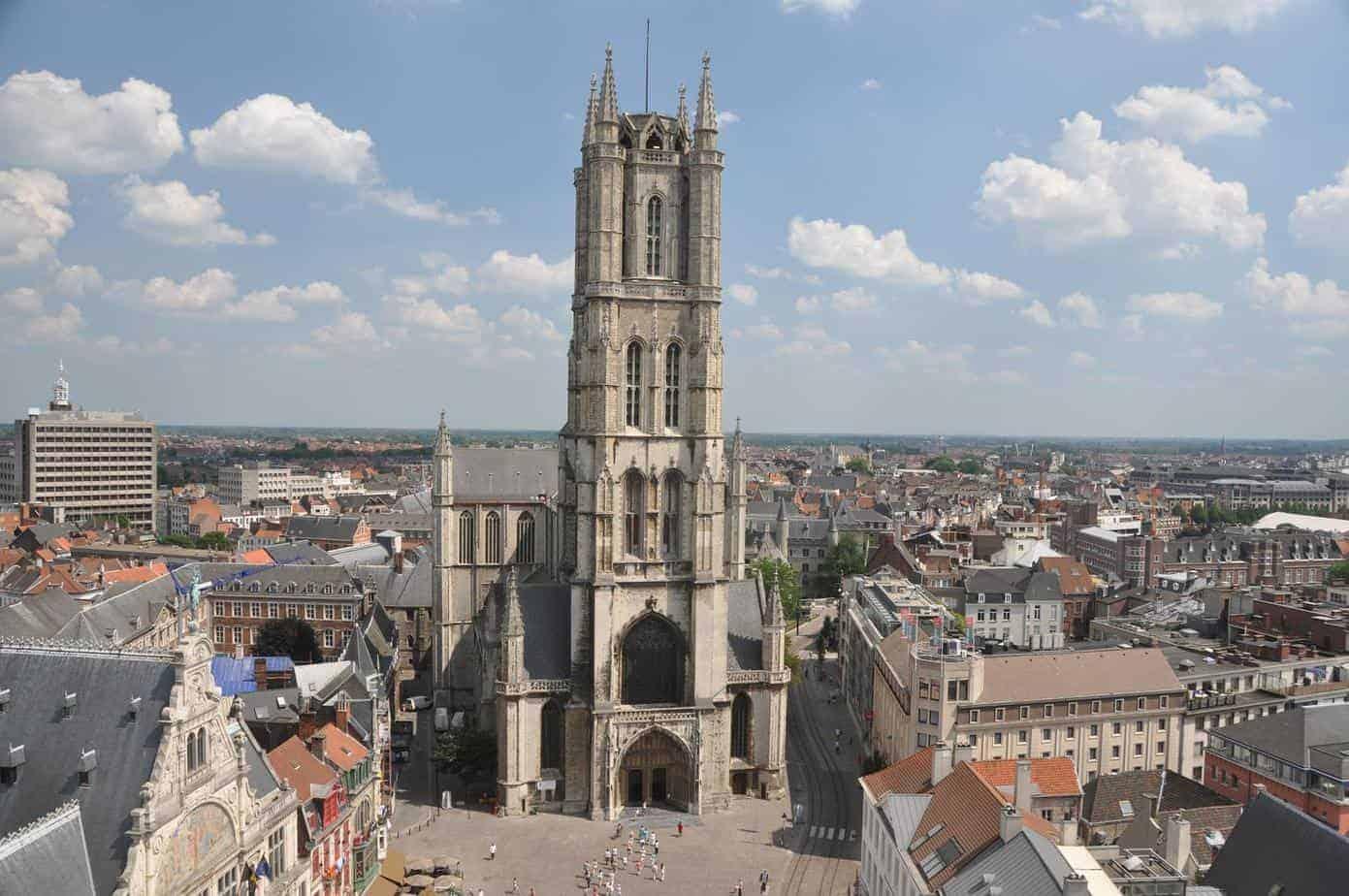 Saint Bavo Cathedral Ghent Belgium