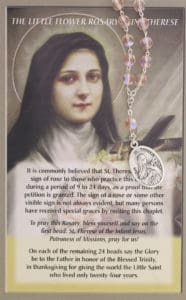 Chaplet of Saint Therese of Lisieux