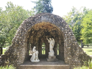 The Annunciation Grotto at the Nazareth Retreat Center