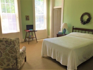 One of the Guest House bedrooms in the Nazareth Retreat Center