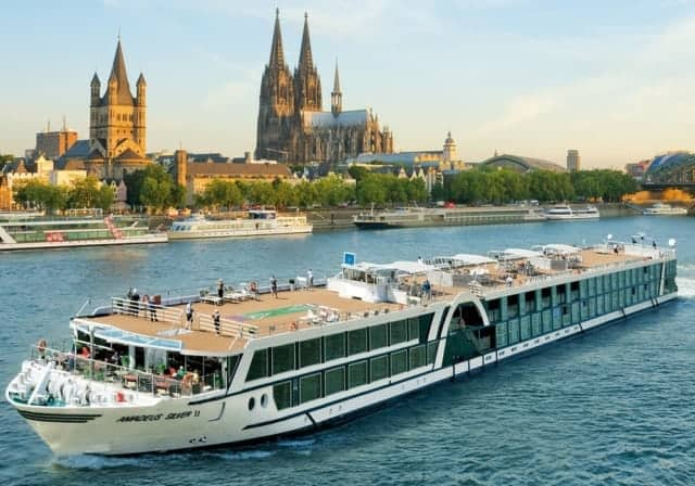 "Catholic cruise by Select International with Fr. Leo Patalinghug on Amadeus River Cruise ship ""Silver II"""