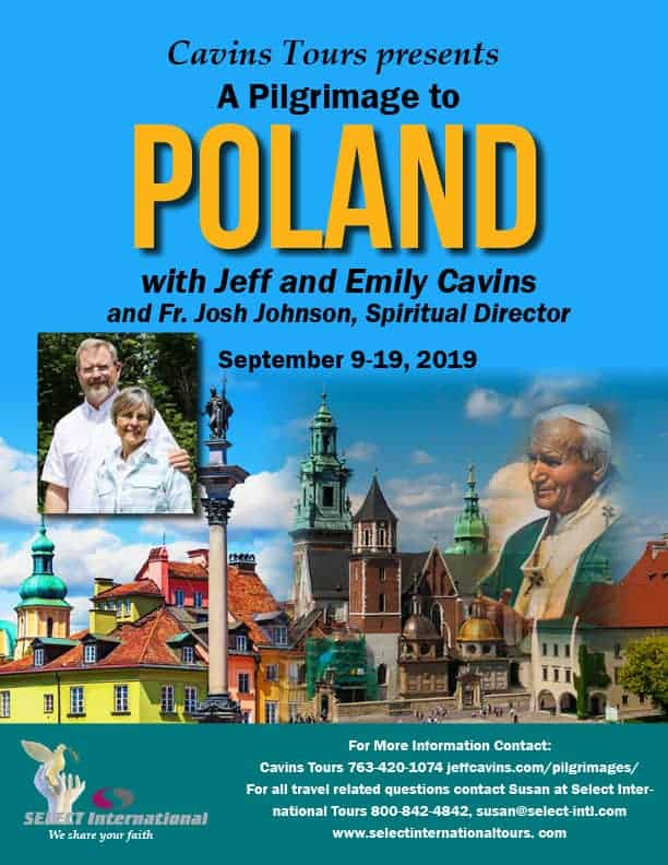 Select International Poland pilgrimage with Jeff & Emilly Cavins