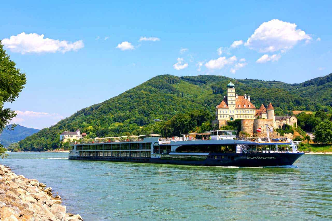 River cruises bring you right to the center of many cities
