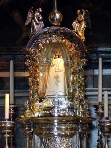 Statue in the Basilica of Our Lady of Scherpenheuvel
