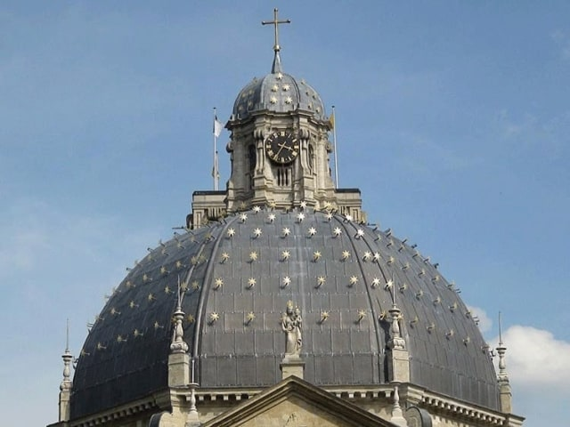 View of the Dome of the Basilica of Our Lady of Scherpenheuvel