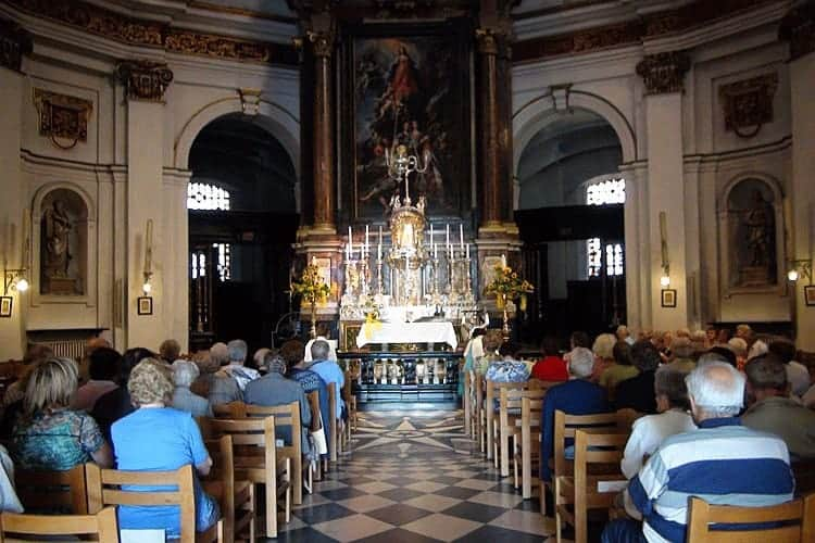 Interior of the Basilica of Our Lady of Scherpenheuvel