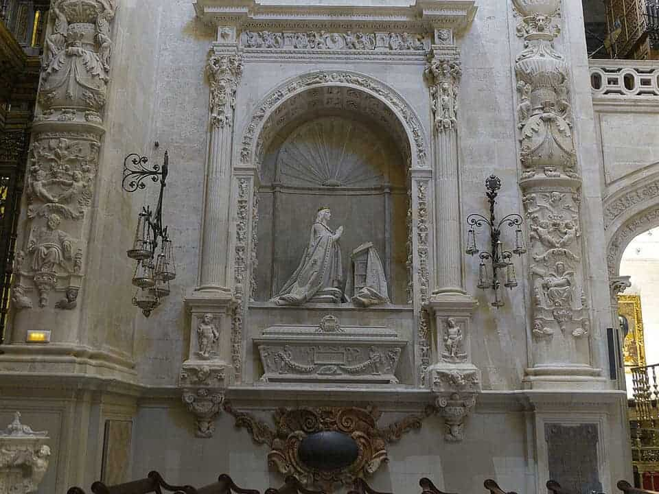 Seville: tomb of King Alfonso X, the wise