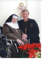 Mother Angelica at the Knights of the Holy Eucharist