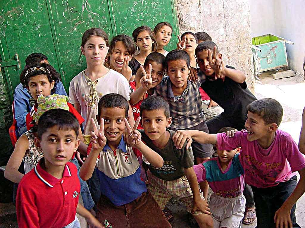 Palestinian children