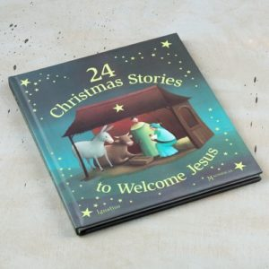 24 Christmas Stories to Welcome Jesus by Eric Puybaret