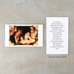 Adoration of the Shepherds Personalized Prayer Cards