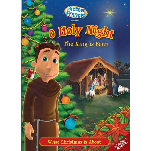 """Brother Francis Christmas DVD: """"The King is Born: What Christmas is About"""""""