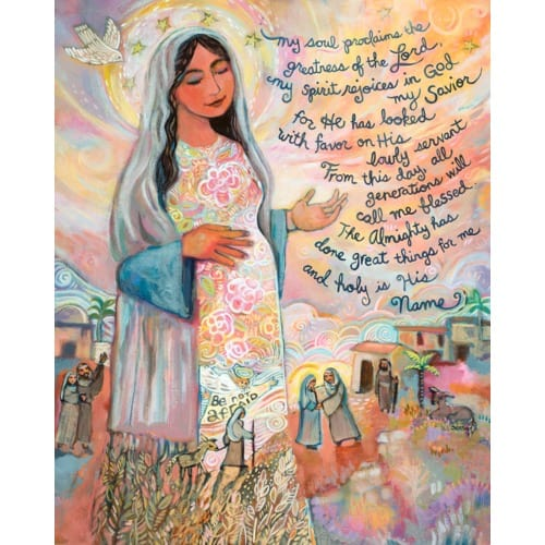 Canticle of Mary Unframed Print