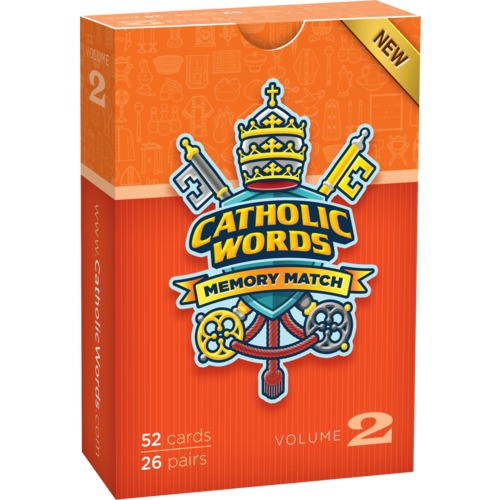 Catholic Words Card Matching Game, Vol. II