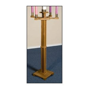 Church Advent Candleholder