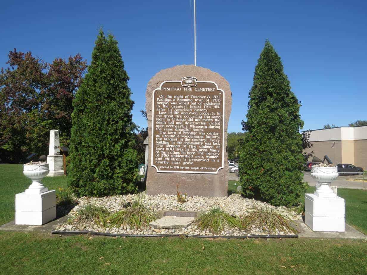 The Peshtigo Fire Cemetery