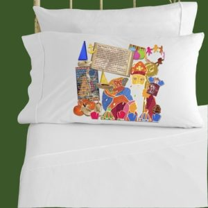Saint Nicholas Story Pillowcase