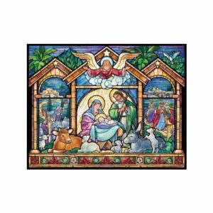 Stained Glass Advent Calendar