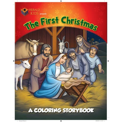 """""""The First Christmas"""" Coloring Storybook"""