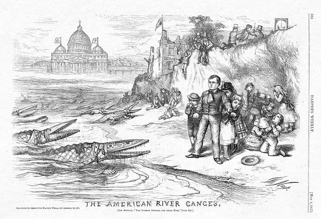 The_American_River_Ganges_(Thomas_Nast_cartoon)