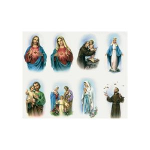 Alba Assorted Personalized Prayer Card (Priced Per Card)