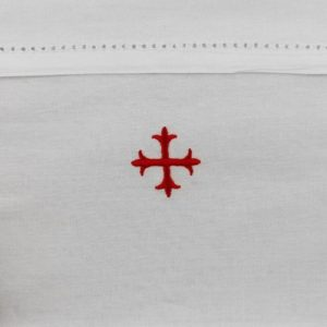 Altar Linens Cotton Chalice Pall - Set of 3