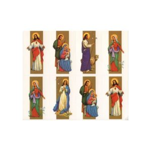 Assorted Images w/ Gold Personalized Prayer Card (Priced Per Card)