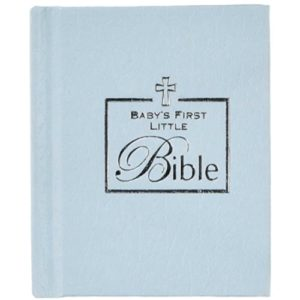 Baby's First Little Bible - Blue