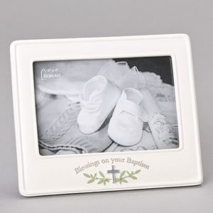 Baptism Blessings Picture Frame