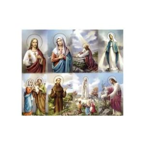 Bonella Personalized Prayer Card - Assorted Subjects