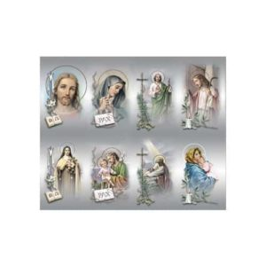 Bonella Series 2 Personalized Prayer Card - Assorted Subjects (Priced Per Card)